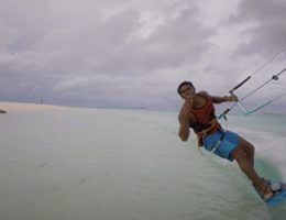 Kite Surfing at Cocoon Maldives, May 2017